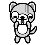 dog_shock-monochrome
