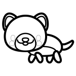 dog_side-blackwhite