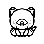 dog_sit-blackwhite