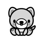 dog_sit-monochrome