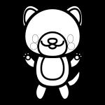 dog_stand-blackwhite