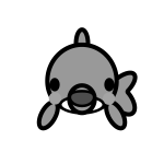 dolphin_01-front-monochrome