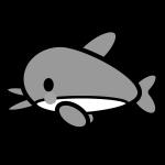 dolphin_01-side-monochrome