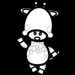 giraffe_enjoy-blackwhite