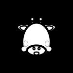 giraffe_face-blackwhite