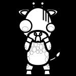 giraffe_shock-blackwhite