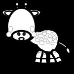 giraffe_side-blackwhite
