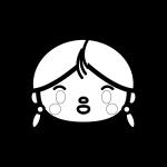 girl_face-blackwhite