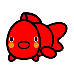 goldfish_red-look-back