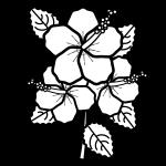 hibiscus_01-blackwhite