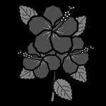 hibiscus_01-monochrome