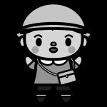 kindergarten-boy_01-monochrome