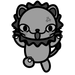lion_angry-monochrome