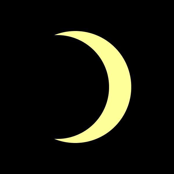 かわいい月の無料イラスト・商用フリー