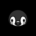 penguin_child-face-monochrome