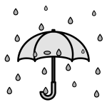 rain_umbrella-monochrome
