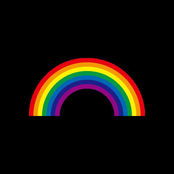 かわいい虹の無料イラスト・商用フリー