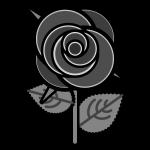 rose_01-monochrome