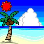 seaside_summer-palm-trees