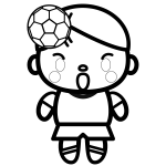 soccer_heading-blackwhite