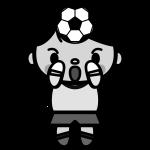 soccer_keeper-monochrome