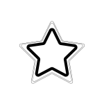 star_shining-blackwhite