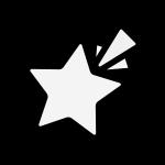star_shooting-monochrome