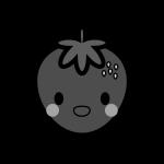 strawberry_01-character-monochrome