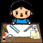 summer-vacation_handicraft-boy-handwrittenstyle
