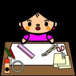 summer-vacation_handicraft-girl