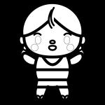 swimsuit-girl_01-blackwhite