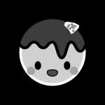 takoyaki_character-monochrome