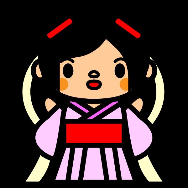 かわいい織姫の無料イラスト・商用フリー