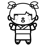 yukata-girl_01-blackwhite