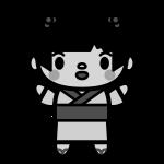 yukata-girl_01-monochrome