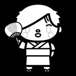yukata-man_03-blackwhite