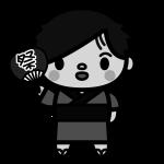 yukata-man_03-monochrome