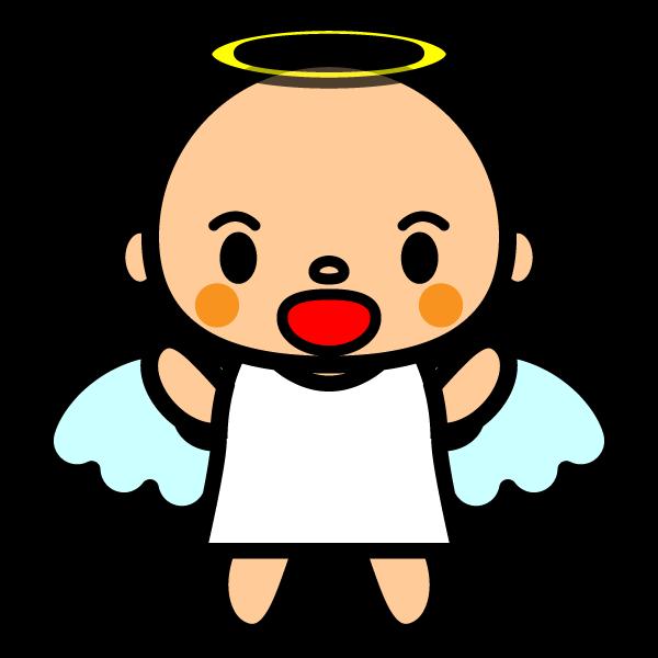 かわいい天使の無料イラスト・商用フリー