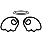 angel_feather01-blackwhite
