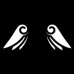angel_feather02-blackwhite