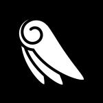 angel_feather04-blackwhite