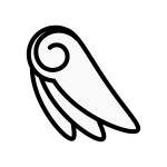 angel_feather04-monochrome