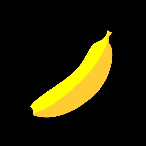 かわいいバナナの無料イラスト・商用フリー