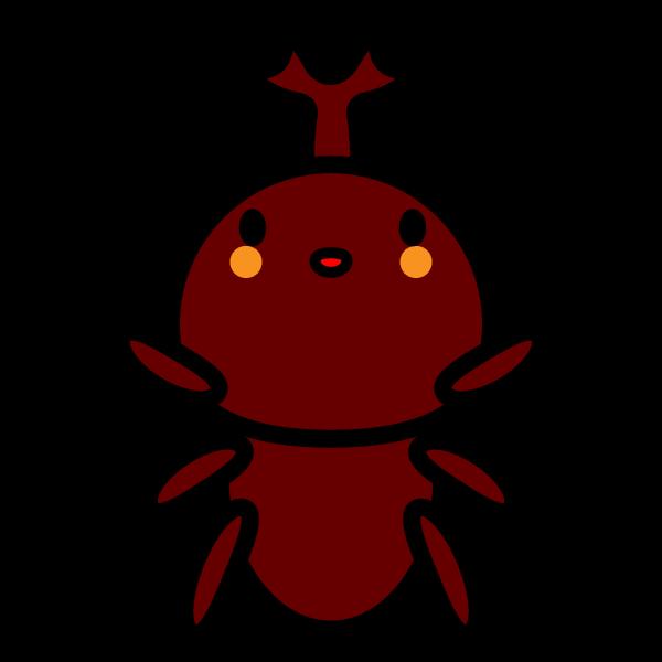 かわいいカブトムシの無料イラスト・商用フリー