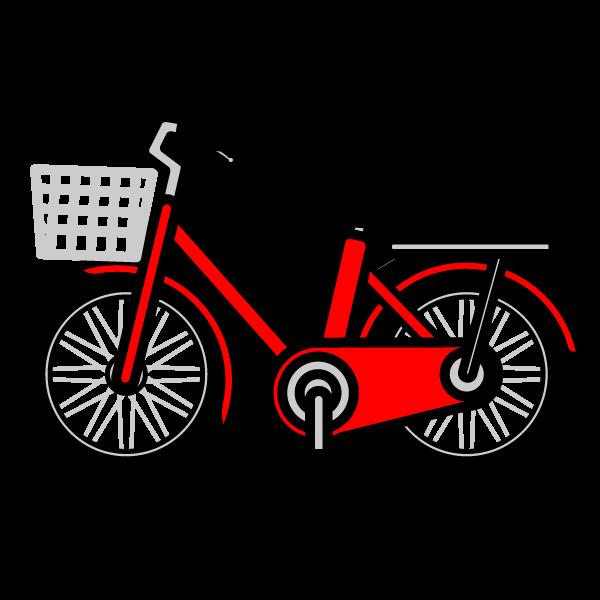 かわいい自転車の無料イラスト・商用フリー