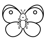 butterfly_colias-blackwhite