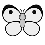 butterfly_colias-top-monochrome