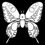 butterfly_swallowtail-blackwhite