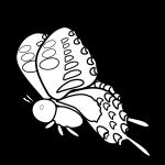 butterfly_swallowtail-side-blackwhite