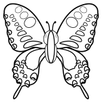butterfly_swallowtail-top-blackwhite